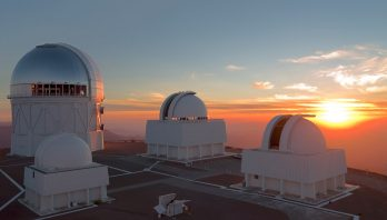 Cerro Tololo Inter-American Observatory at Sunset