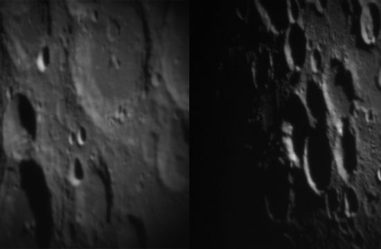 Images of the Moon for testing DKIST telescope