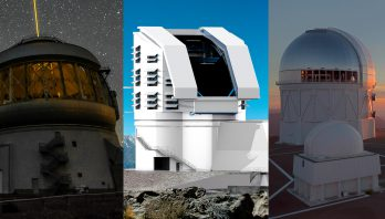 image od gemini south, LSST and CTIO