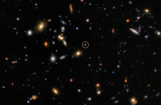 NOIRLab: Gemini Observatory's Quick Reflexes Capture Fleeting Flash