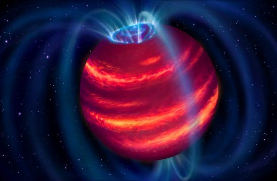 NOIRLab: Maunakea Telescopes Confirm First Brown Dwarf Discovered by Radio Observations