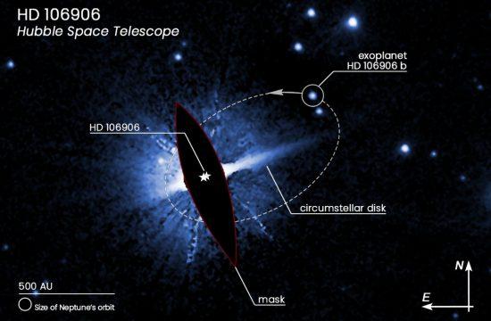 STScI: Hubble Pins Down Weird Exoplanet with Far-Flung Orbit