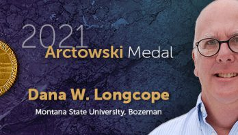 Dana W. Longcope receives the 2021 Arctowski Medal