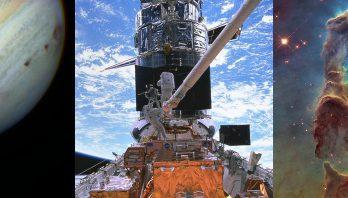 3 Hubble images